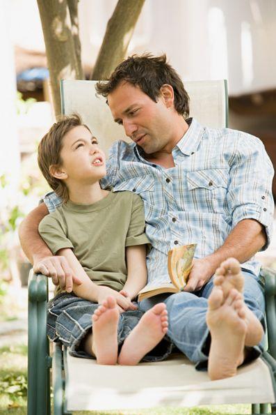 Comunícate con tus hijos para explicarles qué sucede. La superación personal puede ayudarte a lograrlo