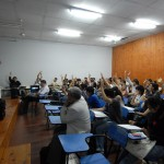Sergio Varela dictando curso de Superacion Personal